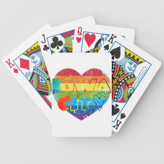 Iowa City Rainbow Gay Poker Deck
