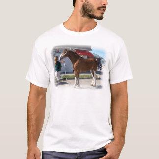 Iowa Clyde Show Missy ]white border T-Shirt
