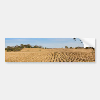 Iowa Cornfield Panorama Photo Bumper Sticker
