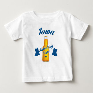 Iowa Drinking team Baby T-Shirt