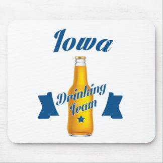 Iowa Drinking team Mouse Pad