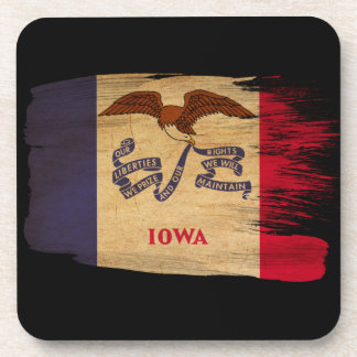 Iowa Flag Coasters