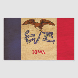 Iowa Flag Sticker