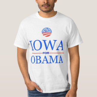 Iowa For Obama Fro 2012 T-Shirt