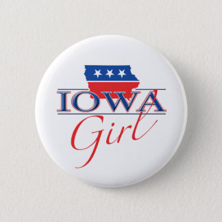 Iowa Girl Button