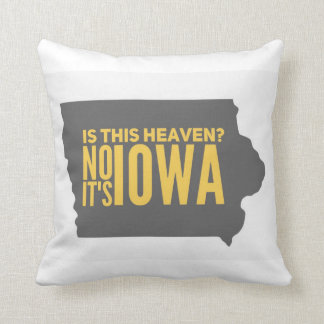 Iowa = Heaven Pillow