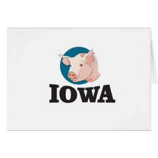 iowa hogs card