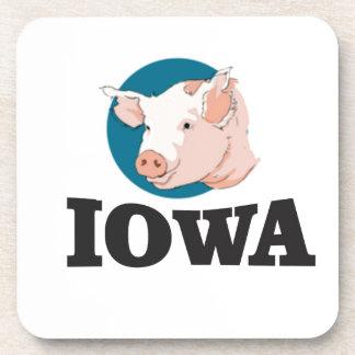 iowa hogs coaster