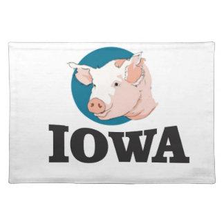 iowa hogs placemat