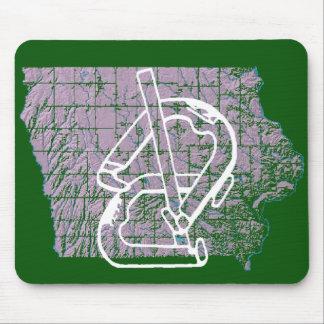 Iowa Horsehoes Mousepad