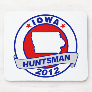 Iowa Jon Huntsman Mouse Pads