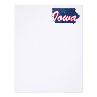 Iowa Letterhead