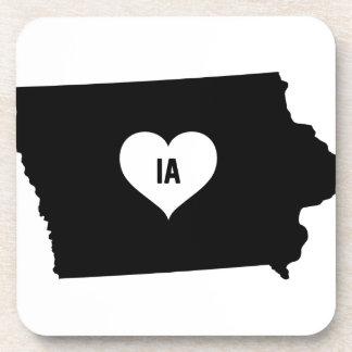 Iowa Love Coaster