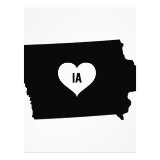 Iowa Love Letterhead