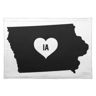 Iowa Love Placemat