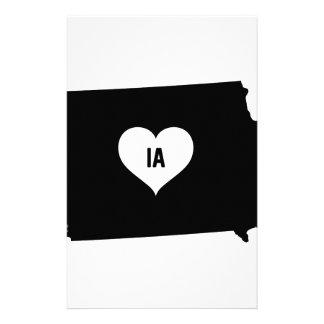 Iowa Love Stationery