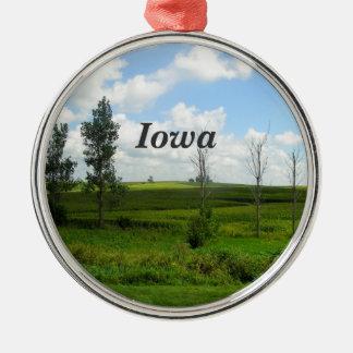 Iowa Metal Ornament