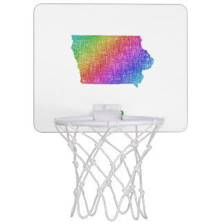 Iowa Mini Basketball Backboard