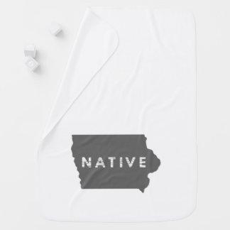Iowa Native Baby Blanket