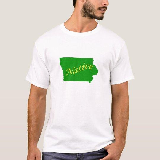Iowa Native Green T-Shirt