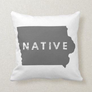 Iowa Native Pillow