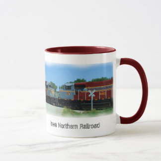Iowa Northern Railroad Mug