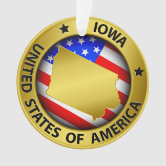 Iowa Ornament - SRF