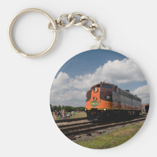 iowa pacific on power parade basic round button keychain