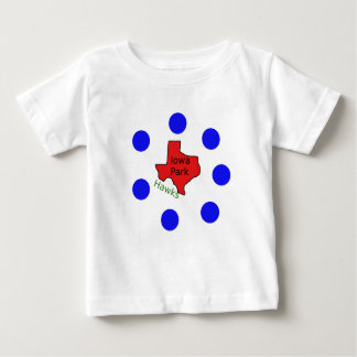 Iowa Park, Texas Design (Hawks Text Included) Baby T-Shirt