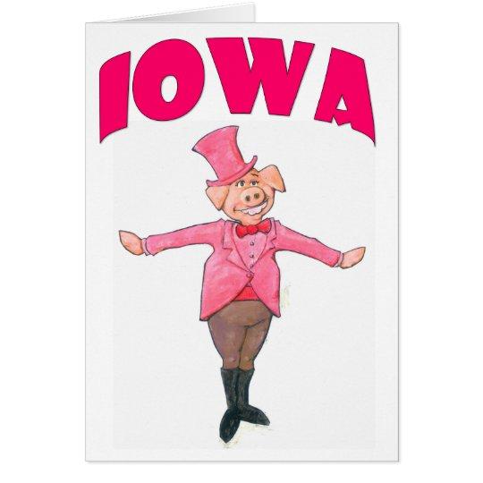 Iowa Pig Card