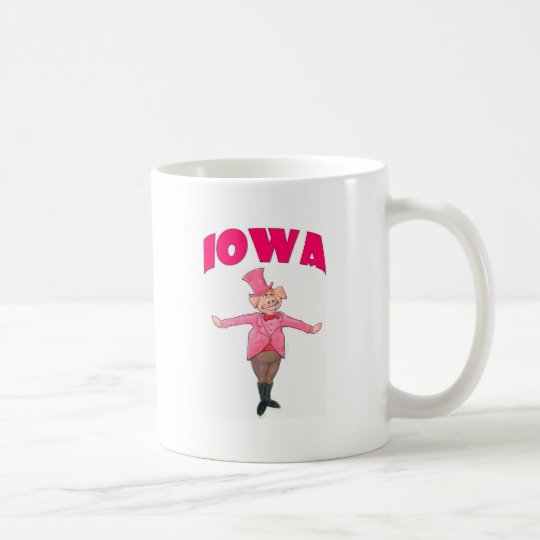 Iowa Pig Coffee Mug