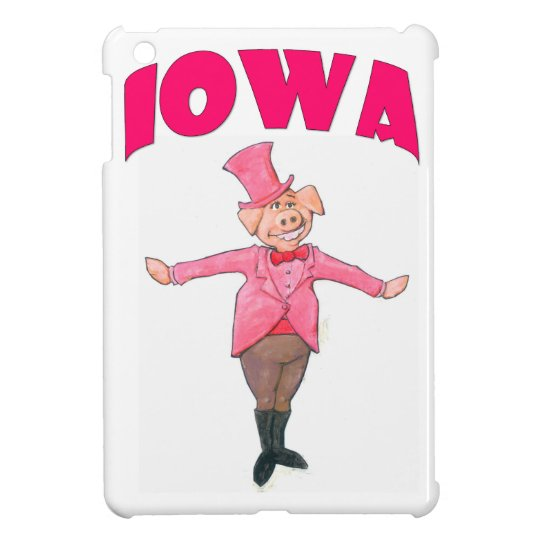Iowa Pig iPad Mini Cases