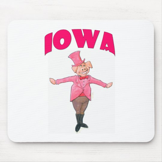 Iowa Pig Mouse Pad