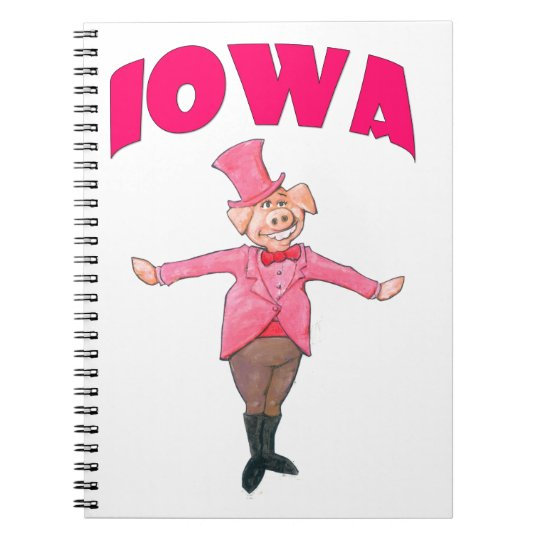 Iowa Pig Notebook