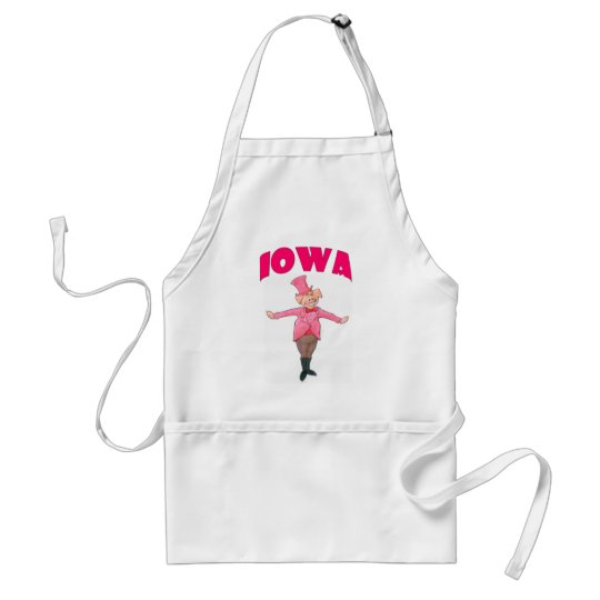Iowa Pig Standard Apron