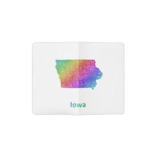 Iowa Pocket Moleskine Notebook