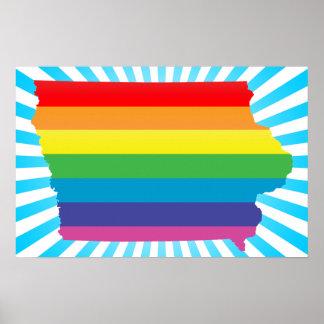 iowa pride. poster
