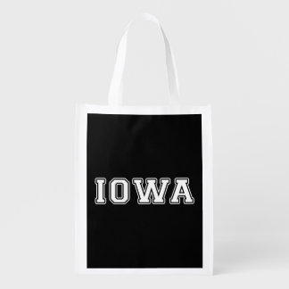 Iowa Reusable Grocery Bag
