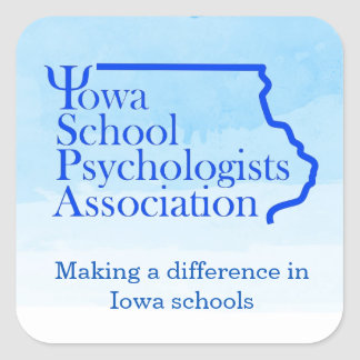 Iowa School Psychologists Association Stickers