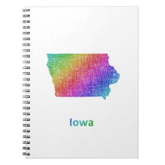 Iowa Spiral Notebook