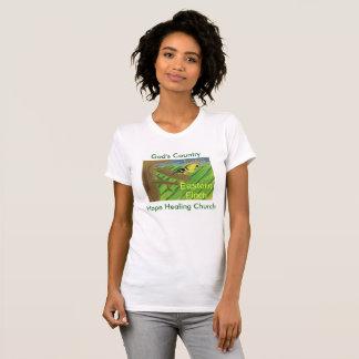 Iowa State Bird Eastern Finch Womens T-Shirt