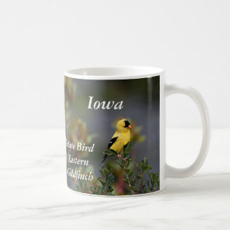 Iowa state bird Eastern Goldfinch Coffee Mug
