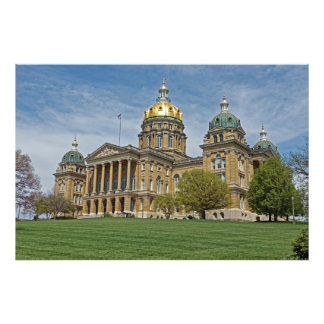 Iowa State Capitol Building Photo Print