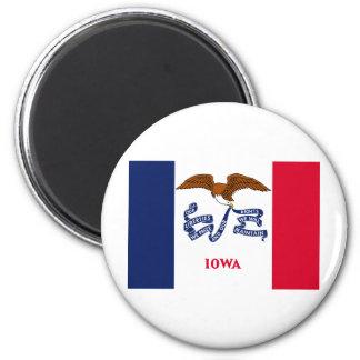 Iowa State Flag Magnet