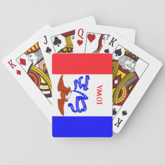 Iowa State Flag Playing Cards
