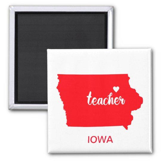 Iowa Teacher Magnet