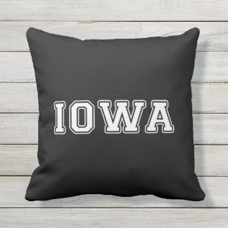 Iowa Throw Pillow