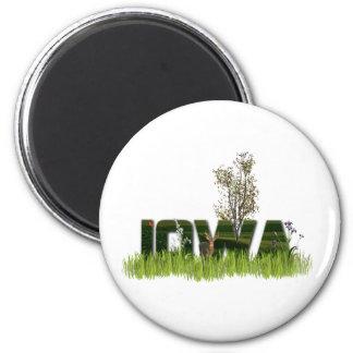 Iowa Wildlife Magnet