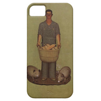Iowa's Product by Grant Wood iPhone 5 Case