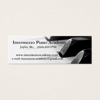 IPA all date Mini Business Card